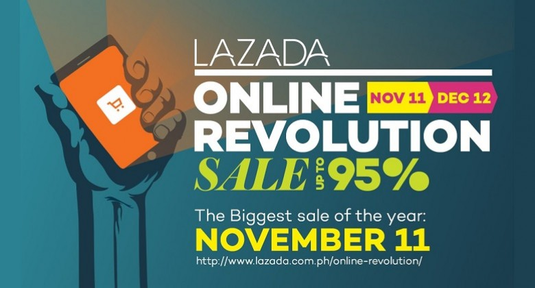 Ready, Set, Shop at Lazada's Online Revolution Sale 2015!