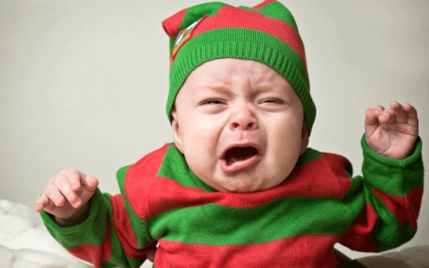 Studies Show How Babies May Be Stressed Out by the Holidays