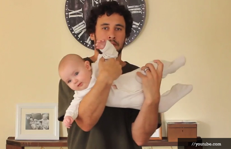 Wrong Ways to Carry Your Baby