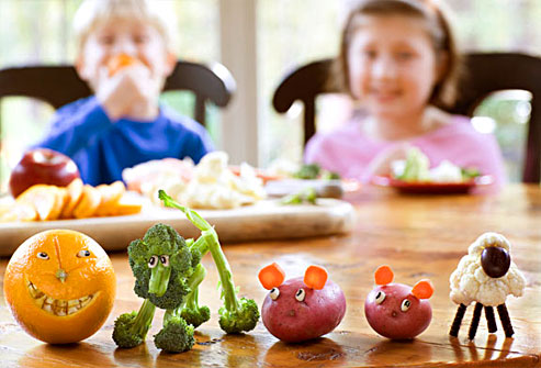 How to Encourage Kids to Eat Vegetables